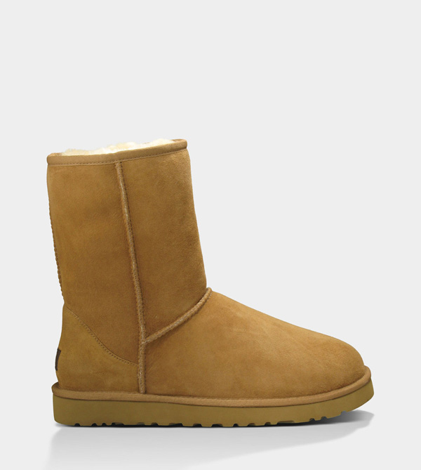 UGG MENS CLASSIC SHORT CHESTNUT FOR SALE