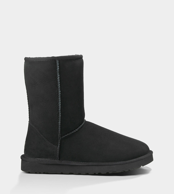UGG MENS CLASSIC SHORT BLACK FOR SALE
