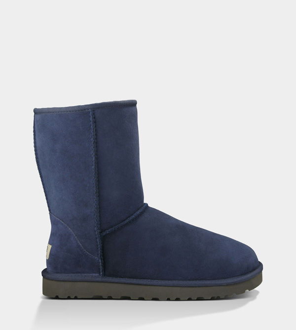 UGG MENS CLASSIC SHORT NAVY FOR SALE