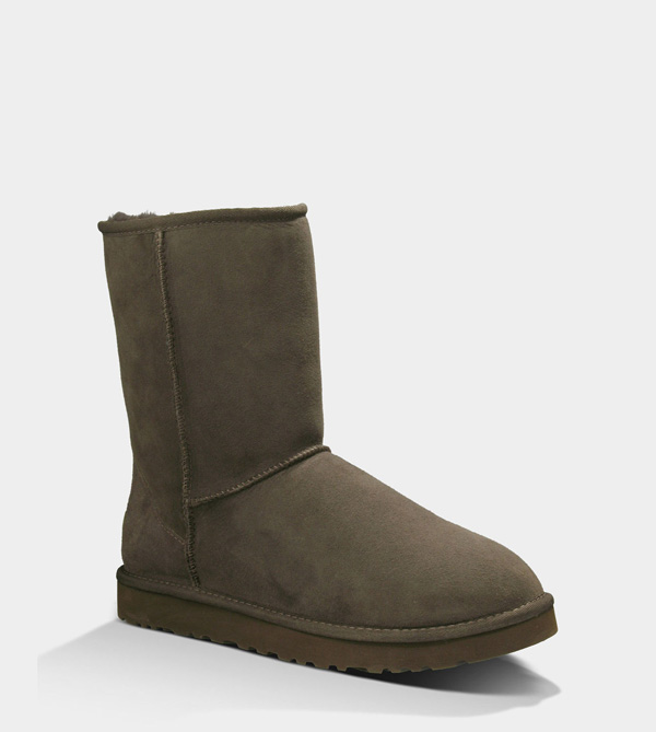 UGG MENS CLASSIC SHORT CHOCOLATE FOR SALE