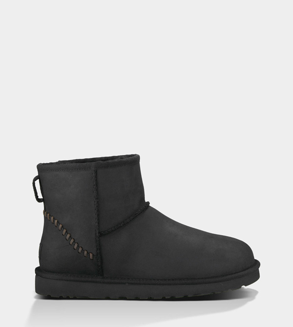 UGG MENS CLASSIC MINI DECO BLACK FOR SALE