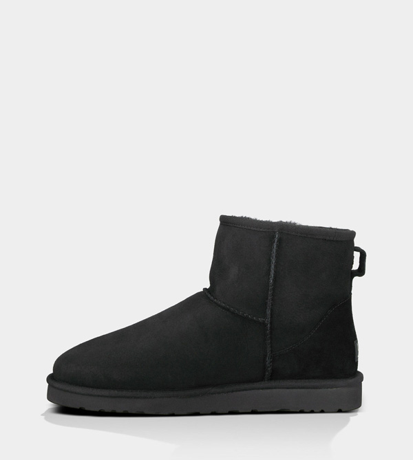 UGG MENS CLASSIC MINI BLACK FOR SALE