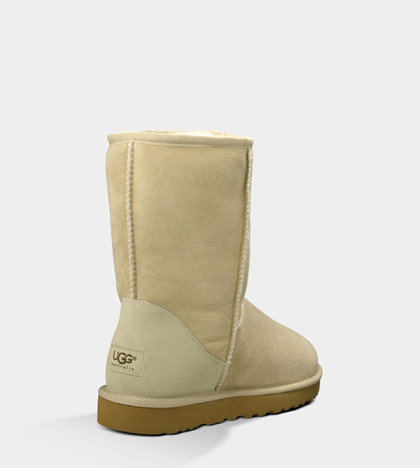 UGG MENS CLASSIC SHORT SAND FOR SALE