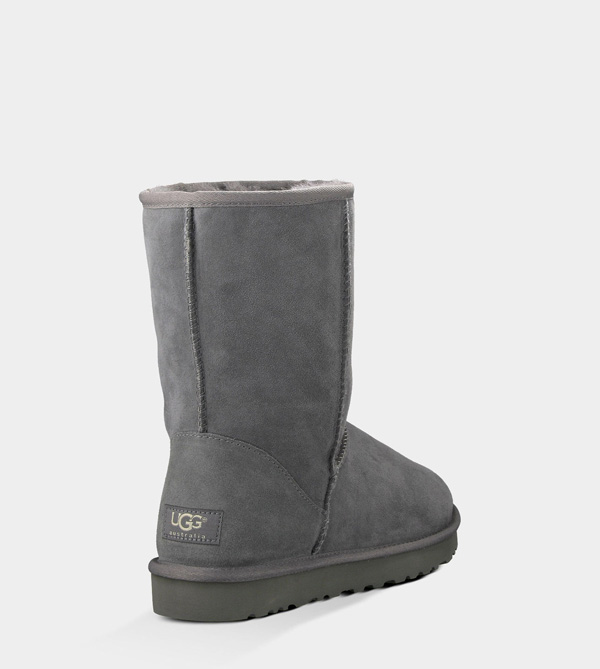 UGG MENS CLASSIC SHORT GREY FOR SALE