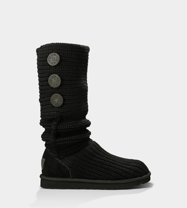 UGG WOMENS CLASSIC CARDY BLACK FOR SALE