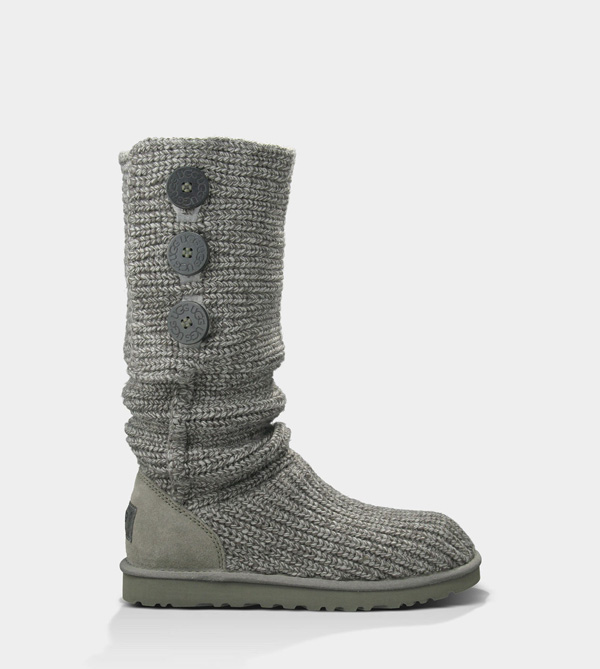 UGG WOMENS CLASSIC CARDY GREY FOR SALE