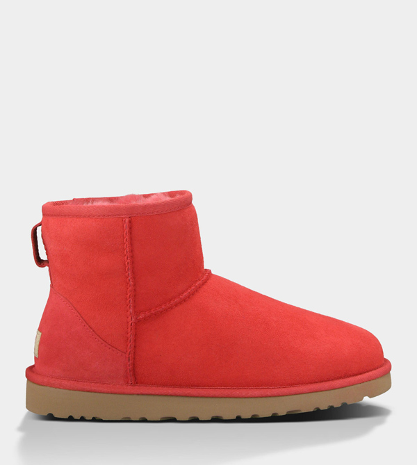 UGG WOMENS CLASSIC MINI RED LIGHT FOR SALE