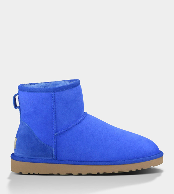UGG WOMENS CLASSIC MINI ELECTRIC BLUE FOR SALE