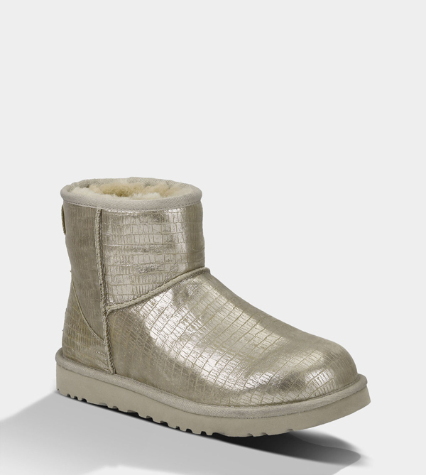 UGG WOMENS CLASSIC MINI LIZARD STERLING FOR SALE