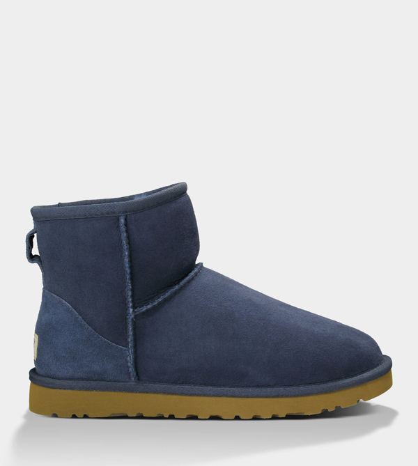 UGG WOMENS CLASSIC MINI NAVY FOR SALE