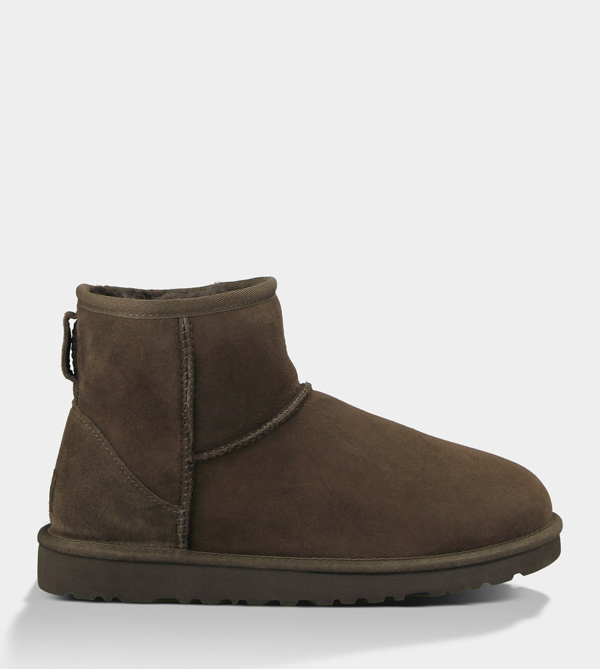 UGG WOMENS CLASSIC MINI CHOCOLATE FOR SALE