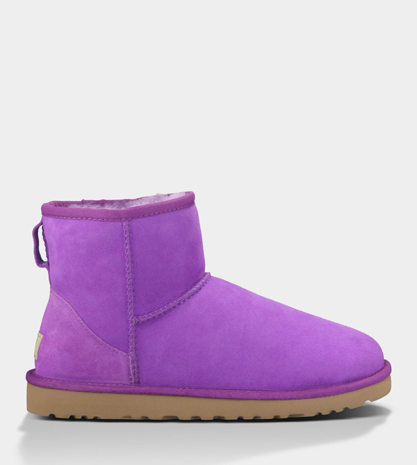 UGG WOMENS CLASSIC MINI ELECTRIC VIOLET FOR SALE