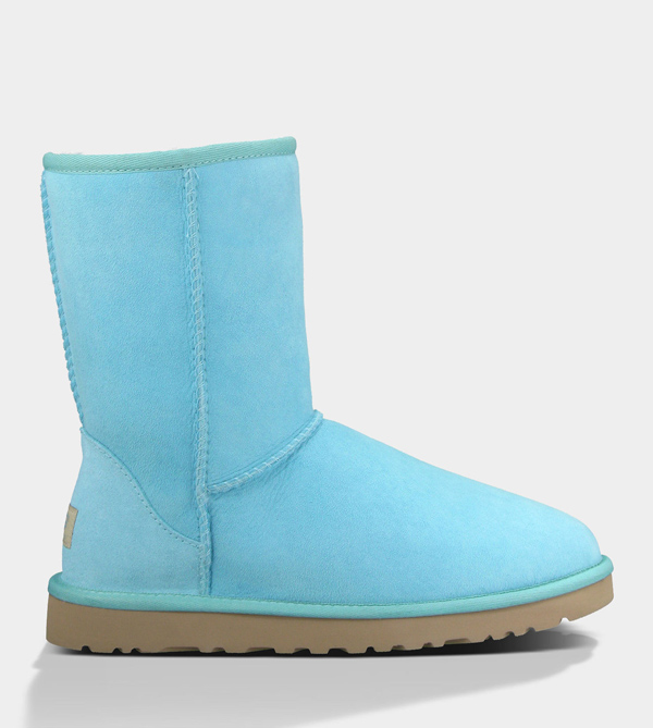 UGG WOMENS CLASSIC SHORT LAGOON FOR SALE