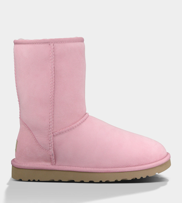 UGG WOMENS CLASSIC SHORT MAUVE FOR SALE