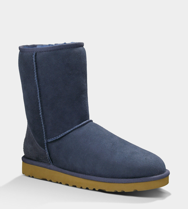 UGG WOMENS CLASSIC SHORT NAVY FOR SALE