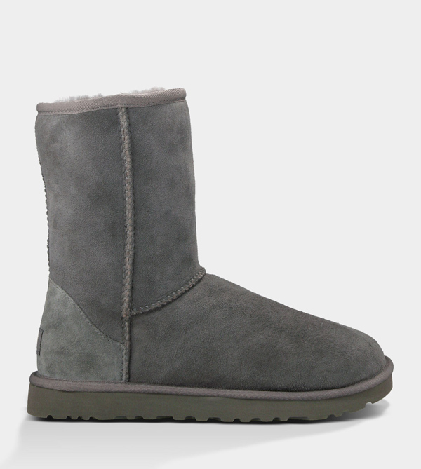 UGG WOMENS CLASSIC SHORT GREY FOR SALE