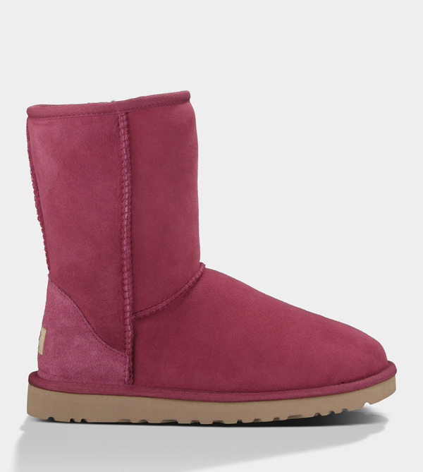 UGG WOMENS CLASSIC SHORT SANGRIA FOR SALE
