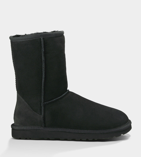 UGG WOMENS CLASSIC SHORT BLACK FOR SALE