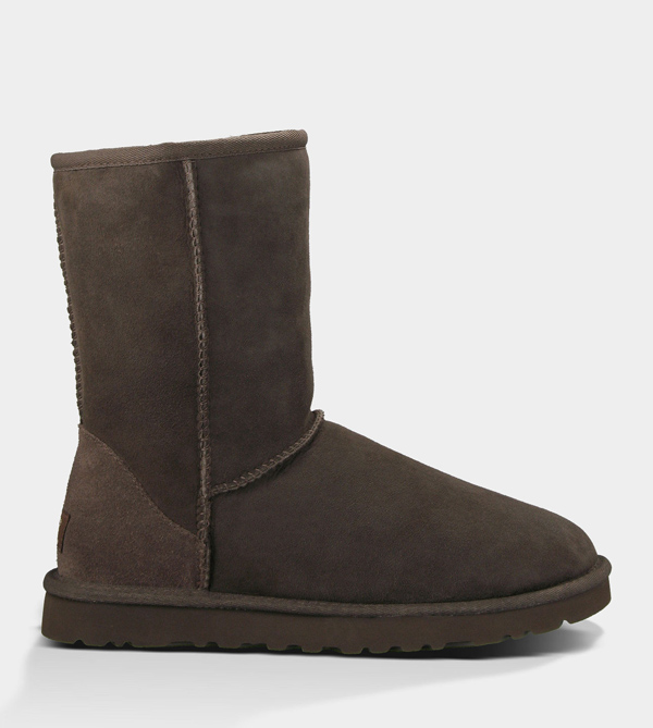 UGG WOMENS CLASSIC SHORT CHOCOLATE FOR SALE