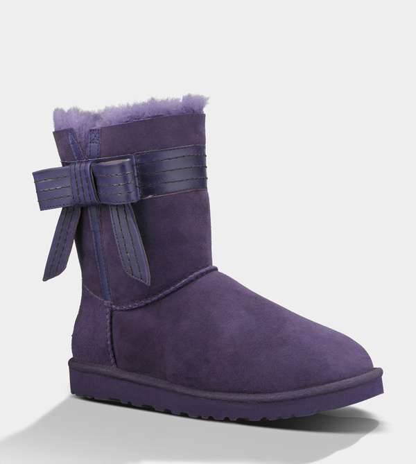 UGG WOMENS JOSETTE PURPLE VELVET FOR SALE