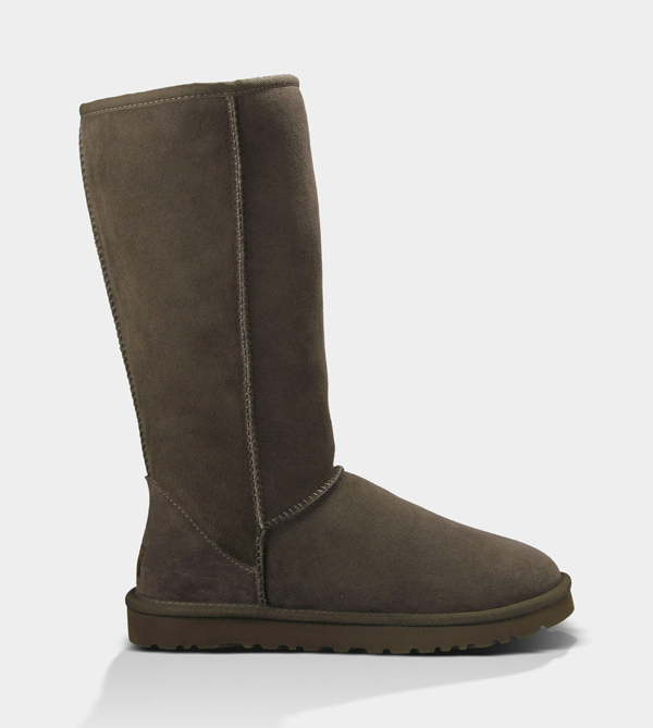 UGG WOMENS CLASSIC TALL CHOCOLATE FOR SALE