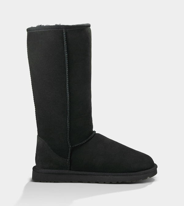 UGG WOMENS CLASSIC TALL BLACK FOR SALE