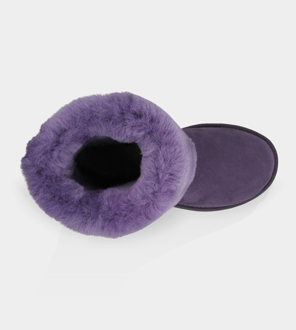 UGG WOMENS CLASSIC TALL PURPLE VELVET FOR SALE