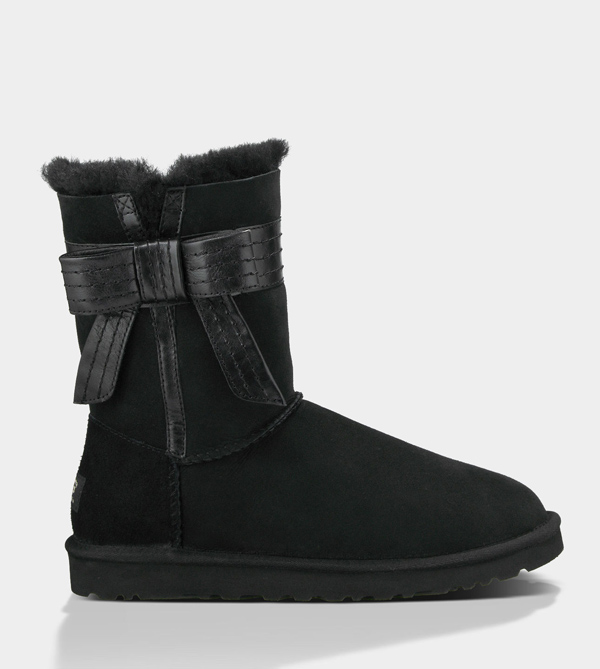 UGG WOMENS JOSETTE BLACK FOR SALE